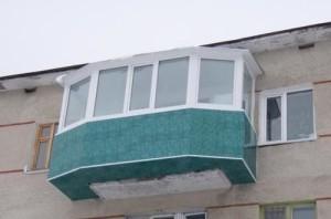 Балкон как пристройка