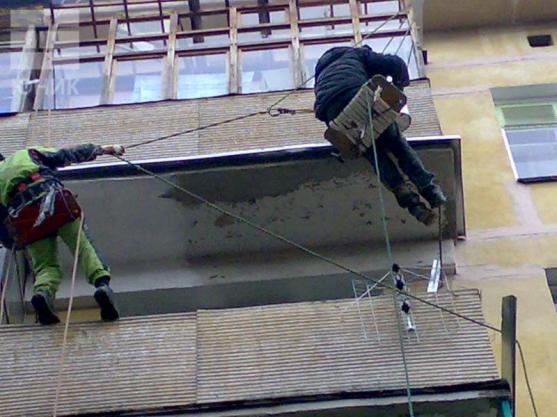Ремонт ограждений из бетонных плит