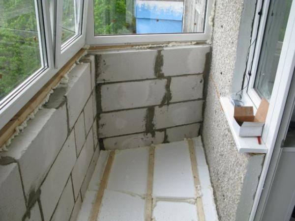 Утепление балкона хрущевки своими руками фото 845