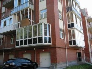 Балконы во многоэтажке