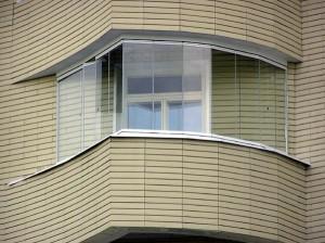 Балкон без профилей