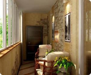 Балкон - место для отдыха