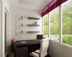 Рабочий стол и удобное кресло