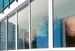 Застекление французского балкона