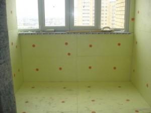 Утепляем балкон минплитами