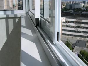 Преимущества алюминиевых окон для лоджии