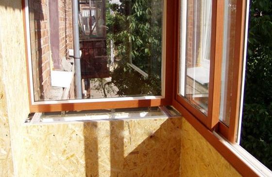 Отделка балкона вагонкой - фото и методика проведения основн.