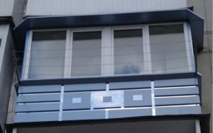 Внешний дизайн балкона