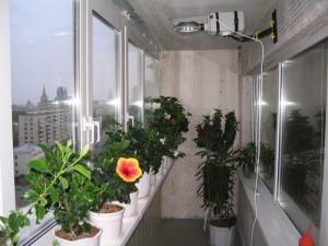 Оборудование для комфорта цветов