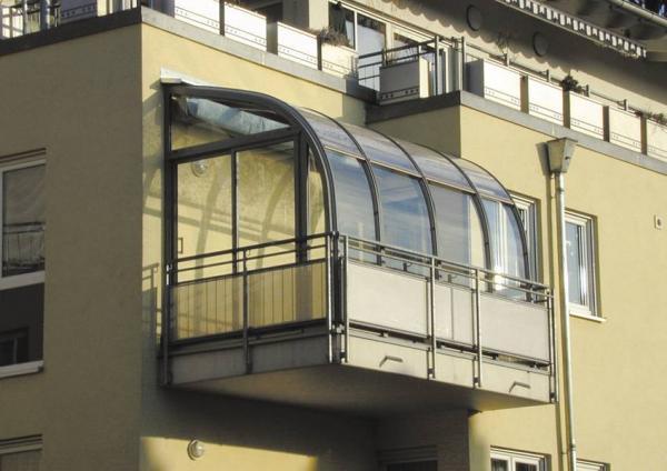 Остекление открытого балкона своими руками