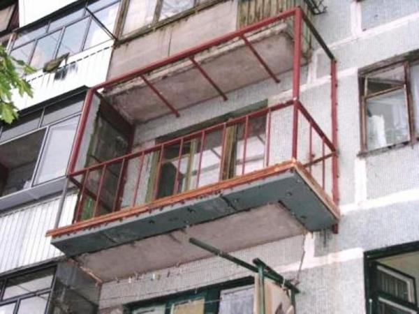 Расширить балкон - как расширить балкон, на сколько 73