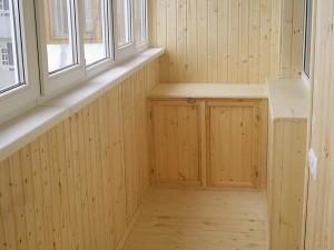 Отделка деревянной вагонкой
