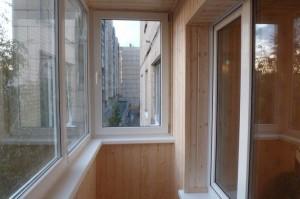 Как произвести отделку балкона изнутри