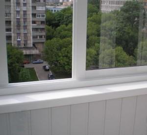Раздвижная конструкция окна