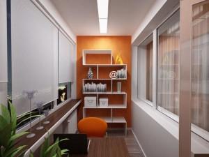 Балкон, как отдельная комната