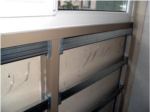 Пластиковая обшивка балкона