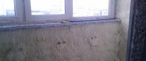 Пенополиуретан на балконе