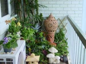 Как сделать сад на балконе своими руками