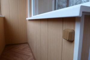 Евровагонка - обшивка балконов