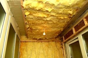 Минеральная вата на стены и потолок