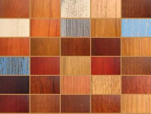 Разные по цвету и фактуре материалы