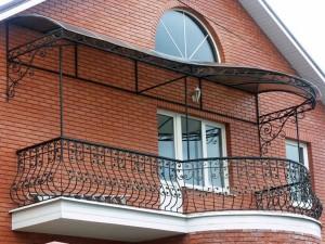 Фигурный балкон
