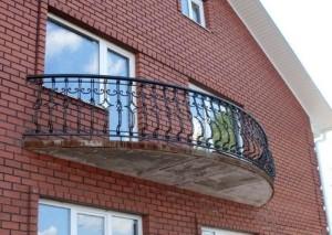 Балкон полукруглой формы