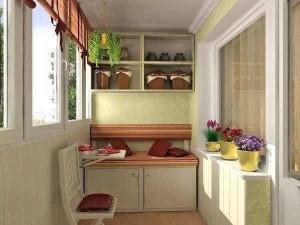 Необычный красивый балкон – как украсить его живыми цветами