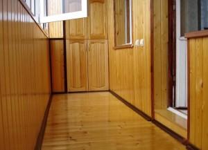 Просторный балкон