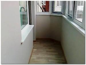 Обустройство присоединенного балкона – как сделать пол на балконе