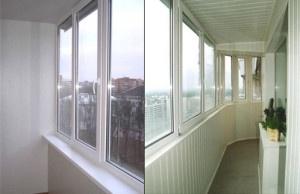 Остекление - лоджии, балкона