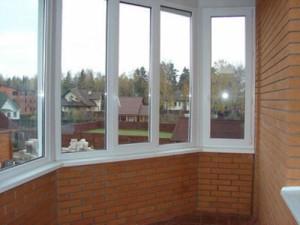 Порядок остекление балкона окнами ПВХ