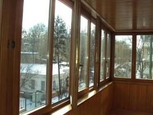 Порядок остекления балкона