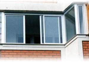 Установленное окно