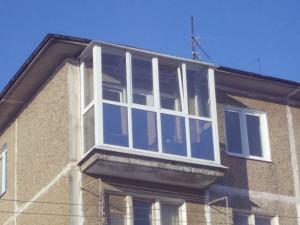 Конструкция балкона - панорамная