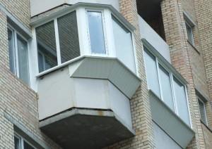 Увеличиваем объем балкона