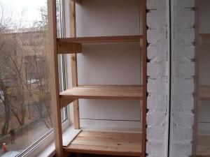 Полка на балконе своими руками