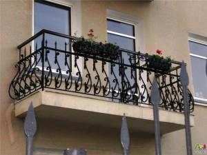 Красивое балконное ограждение