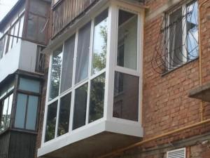 Компания специализируется на балконах под ключ