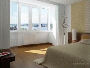 Соединение лоджии с комнатой