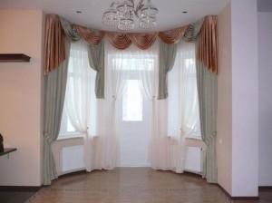 Классический вариант оформления окна