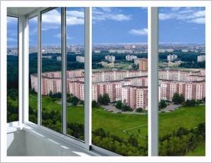 Алюминиевое холодное остекление балконов